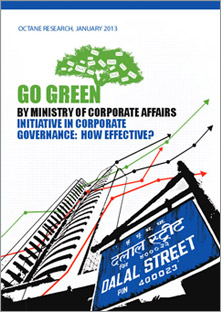Go Green Initiative In Corporate Governance 2013